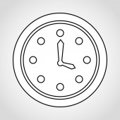 Time icon design — Vector de stock