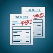 Taxes concept — Stock Vector