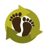 Przyjazne dla środowiska — Wektor stockowy
