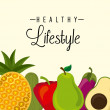 Постер, плакат: Healthy lifestyle