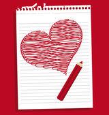 Ikona miłość — Wektor stockowy