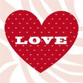 Liebe Ikone — Stockvektor