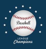 Baseball design. — Stock Vector