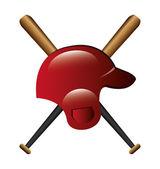 Projeto de beisebol. — Vetor de Stock