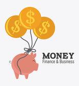 Money design. — Stock Vector