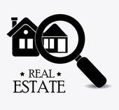 Real estate design. — Stock Vector