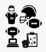 Sportovní design ilustrace — Stock vektor