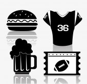 Sports design illustration — Stock Vector