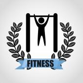 Fitness sport  — Stock vektor