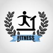Fitness sport  — Stock Vector