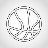 Basketball icon  — Stock Vector