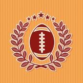 Americký fotbal — Stock vektor
