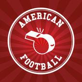 Futbol amerykański — Wektor stockowy
