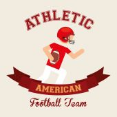 Amerikan futbolu — Stok Vektör