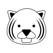 Cute animal  — Stock Vector