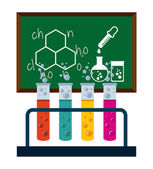 Chemistry concept  — Stock Vector