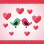 Love card — Stock Vector #70228275