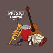 Music design. — Stock Vector