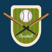Béisbol de diseño. — Vector de stock