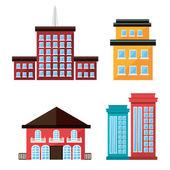 都市デザイン. — ストックベクタ