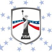 Amerika birleşik devletleri — Stok Vektör