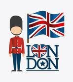 London design illustration — Cтоковый вектор