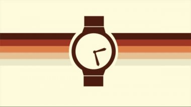 Time Video animation — Stock Video