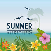 Summer design. — Stock Vector