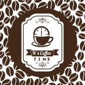 Coffee shop — Stock Vector