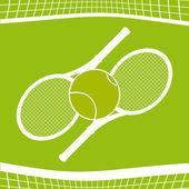Tennis sport — Stock Vector
