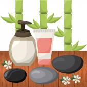 Nature spa — Stock Vector
