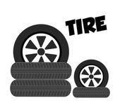 Tire icon  — ストックベクタ