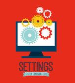 Seo concept — Stock Vector