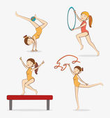 Sport design. — Stock Vector