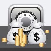 Icono de dinero — Vector de stock
