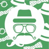 Hipster style — Stock Vector