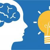 Bulb idea — Stock Vector