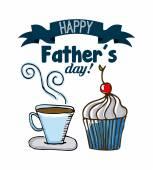 Fathers day — Wektor stockowy