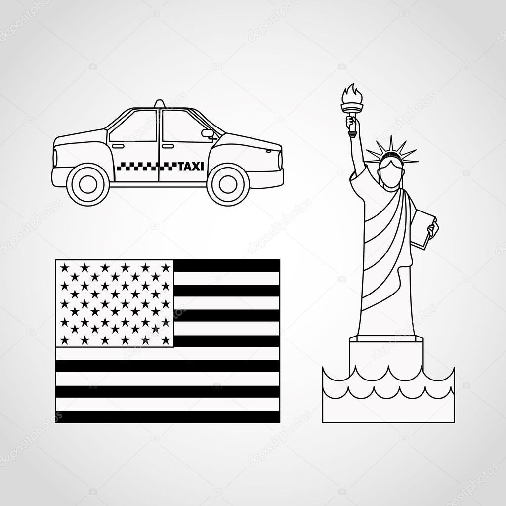 美国国徽 — 图库矢量图像08