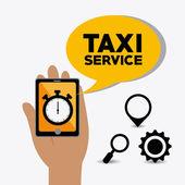 Taxi design. — Stock Vector