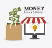 Money design. — ストックベクタ