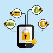 Business security  — Stockvektor