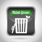 Eco friendly — Stock Vector