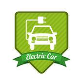 Voiture électrique — Vecteur