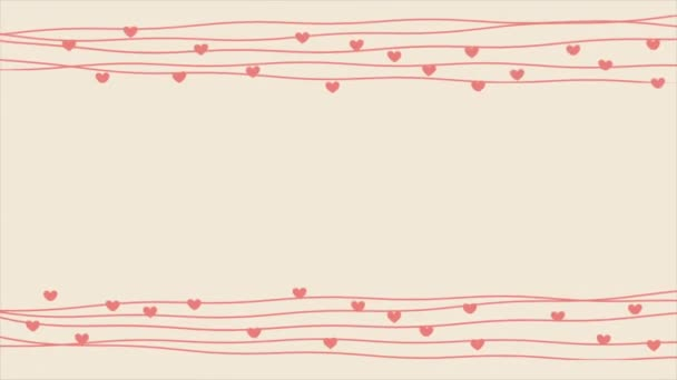 Love Video animation — Vídeo de stock