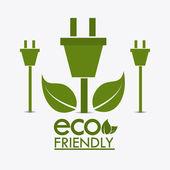 Ecology design. — Stock Vector