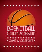 Basketball championship — Stock Vector