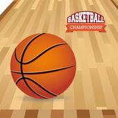 W koszykówce — Wektor stockowy
