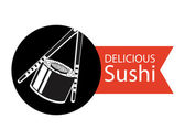Delicious sushi — Stock Vector