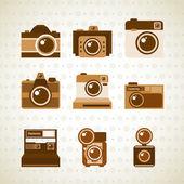 Photographic icon  — Stock Vector